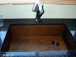 Kitchen Sink Install Install Undermount Sink Simplir Me