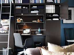 workspace inspiration delectable black storages and desk for small workspace designs