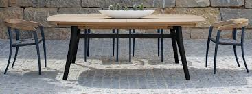 luxury outdoor dining tables u0026 chairs modern design premium