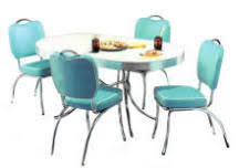 Retro Table Retro Diner Table And Chair Sets