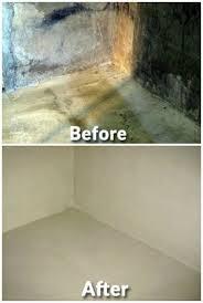ideal basement waterproofing diy interior perimeter basement drain