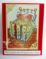 crafty cardmakers 153 depict the poem u0027twas the night before