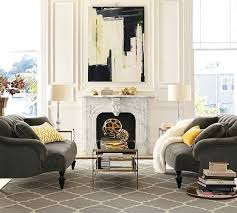 Pottery Barn Greenwich Sofa by Pottery Barn Sofas In Everyday Velvet Fabric In Carbon Color