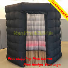 photo booth enclosure aliexpress buy portable 2 4m black octagon photo booth