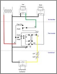 sensational fan relay heat air handler furnace wiring diagrams