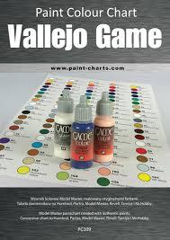 paint colour chart vallejo game color 12mm pjb pc109