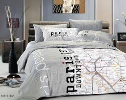theme comforters total fab eiffel tower themed bedding for less