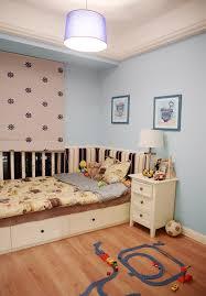 minimalist style children u0027s room beds lamps interior design