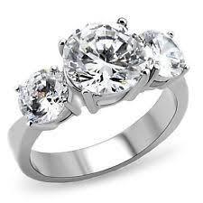 stainless steel engagement ring stainless steel engagement rings ebay