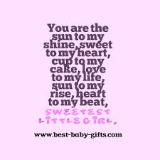 baby girl poems baby poems for scrapbooking sayings and quotes for babies
