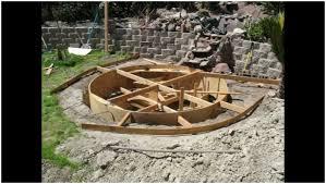 backyards amazing how to build backyard concrete pond or pool
