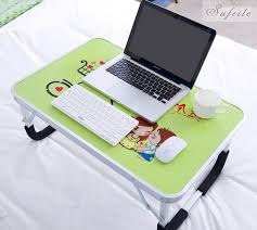 Folding Table With Handle Portable Folding Laptop Notebook Table Desk Adjustable Laptop