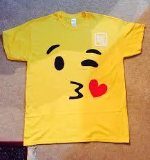 Halloween Themed Shirts Diy No Sew Emoji Shirt Diy Pinterest Emoji Shirt