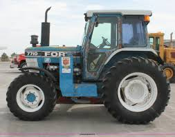 1991 ford 7710 mfwd tractor item f2943 sold tuesday apr
