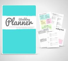 wedding planner organiser wedding planner binder printable teal wedding planner organiser