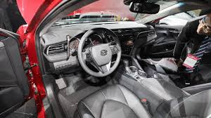 Camry Engine Specs 2018 Toyota Camry Redesign Debut At 2017 Naias Review And Specs
