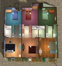 mod the sims city box apartment lot
