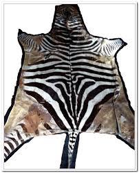real zebra rugs roselawnlutheran