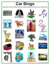 Halloween Bingo Cards Printable For Kids Car Bingo Perfect For Road Trips North Texas Kids