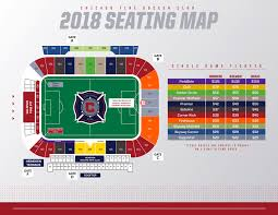 Chicago Map Pdf Toyota Park Seating Map Chicago Fire