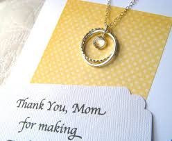 Wedding Gift Jewelry Mother Of The Bride Gift With Poem Card Mother Of The Bride