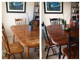 refinish dining room table dinning room table refinishing project before after stripped