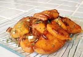 cuisiner patate douce poele au matcha patates douces caramélisées au miel et aux épices