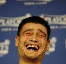 Yao Ming Face Meme - yao ming laughing blank template imgflip