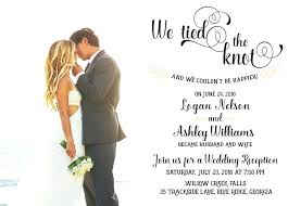 post wedding reception invitations beautiful post wedding celebration invitations and size of