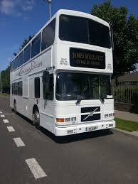 double decker party bus 78 seat double deck bus james mullally coach hirejames mullally