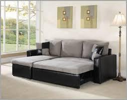 sectional sofa grey warm grey fabric black vinyl modern