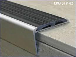 non slip retrofit stair edging safety stair tread nosing