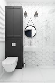 Bathroom White And Black Interior by Best 25 White Wall Tiles Ideas On Pinterest Wall Tiles Design
