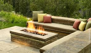 Modern Outdoor Gas Fireplace by Patio Design With Seating Creating A Garden Pinterest Patios