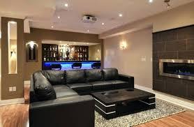Basement Renovation - 24 stunning ideas for designing a contemporary basement basement