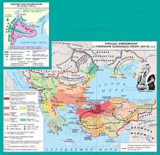 Map Of Ottoman Empire The Death Of The Byzantine Empire And The Emergence Of The Ottoman