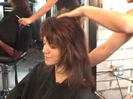 cut your own shag haircut style part 2 rocker shag dry razor hair cutting youtube