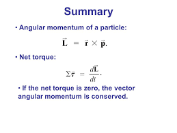rotational motion and angular momentum ppt