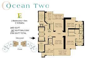 two floor plan two condo isles condo 19111 collins ave miami