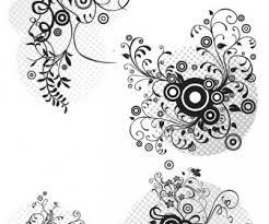abstract floral ornaments vector set 2 vector graphics