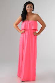 maxi kjole neon frill maxikjole neon pink missmartins dk