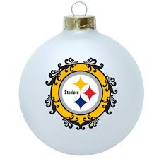 pittsburgh steelers 3 1 4 collectible tree ornament