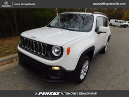 mail jeep 4x4 2017 used jeep renegade latitude 4x4 at toyota of fayetteville