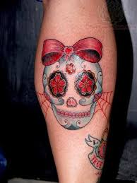 sugar skull sugar skull tattoos pictures and images