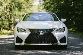 2015 lexus isf white driving the 2015 lexus rc f lexus enthusiast