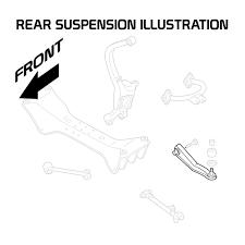 mitsubishi galant 94 03 ea ec adjustable rear toe arm