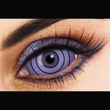 sharingan rinnegan purple sclera 22mm