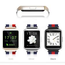 black friday smart watch l1 bluetooth 4 0 mtk2502 1 54 inch nylon strap smart watch for