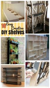 16 attractive diy shelves for your homely stuff diy craft ideas
