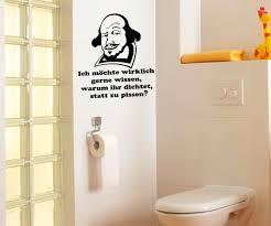wandtattoo badezimmer toiletten spruch aufkleber wandtattoo badezimmer wc bad sticker